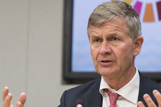 Erik Solheim som leder FNs miljøorganisasjon UNEP