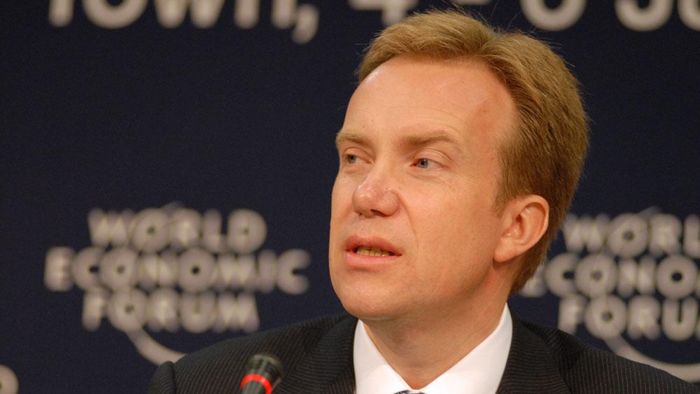 Bildet viser utenriksminister Børge Brende