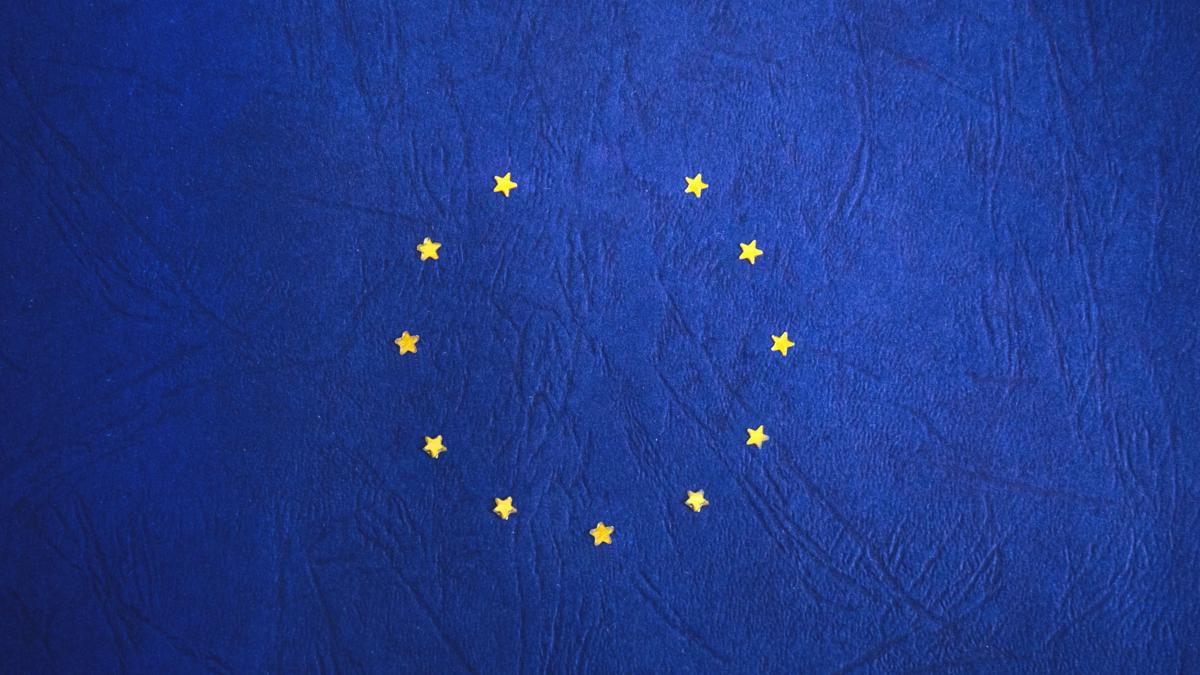 Bildet viser en Eu-logo som mangler en stjerne