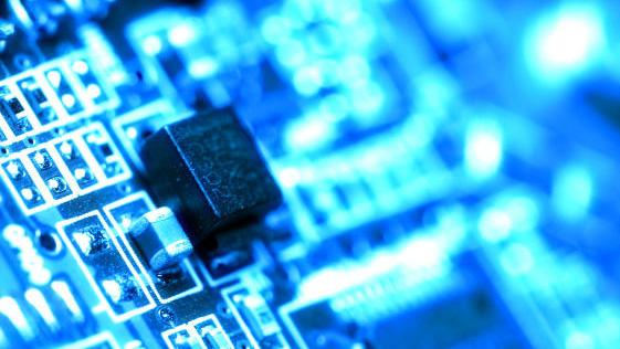 Bildet illustrerer cyberspace