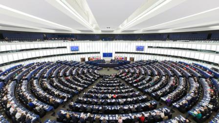 Bildet viser EU Parlamentet