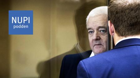 Bildet viser Frode Berg i retten i Moskva i april 2019