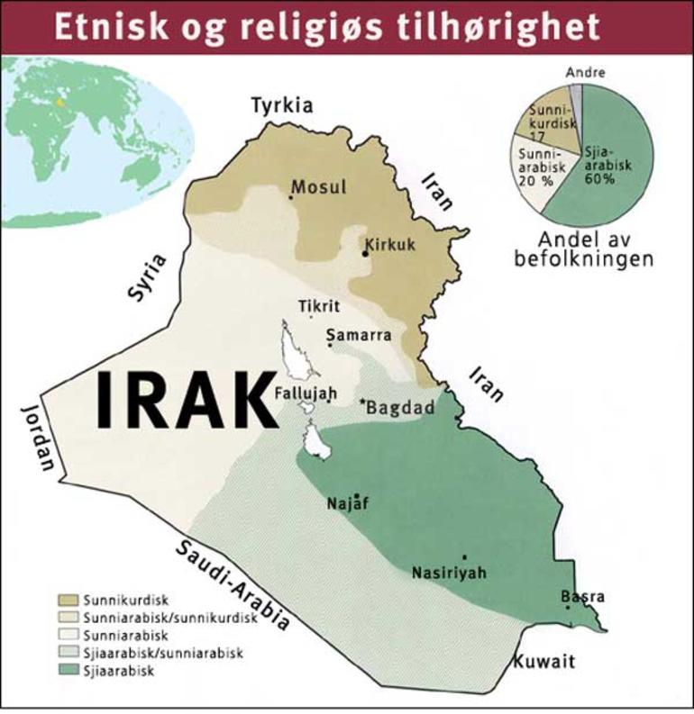 situasjonen i irak