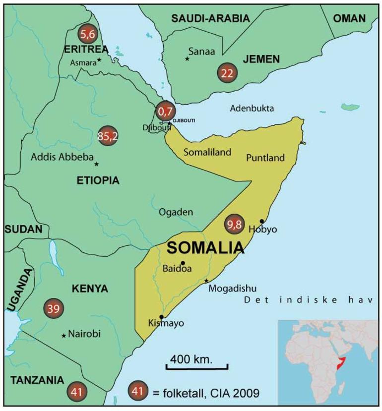 Somalia Islamister Og Pirater Hhd Artikkel Nupi