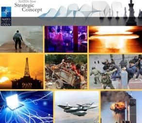 Bilder av forskjellige sikkerhetsutfordringer