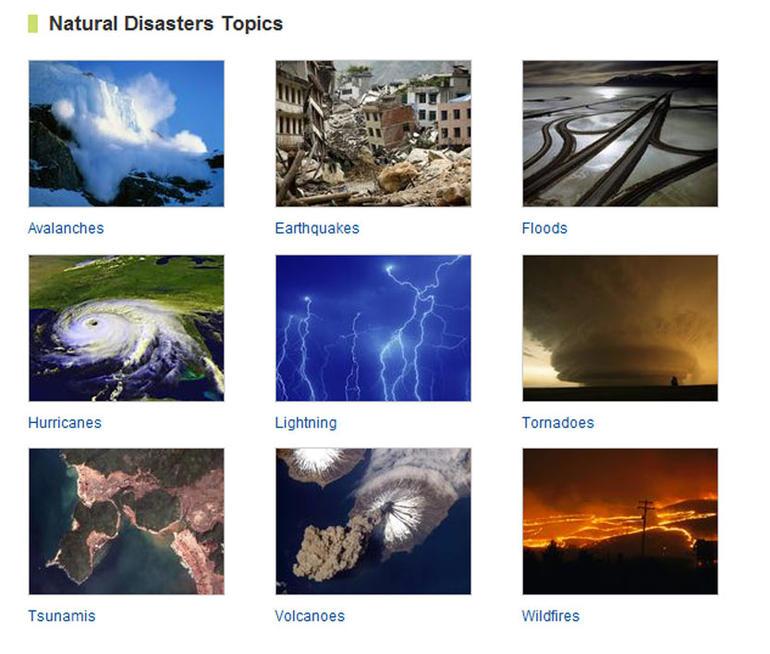 naturkatastrofer i usa