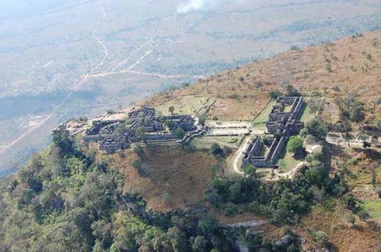 Bilde av det omstridte tempelet Preah Vihear