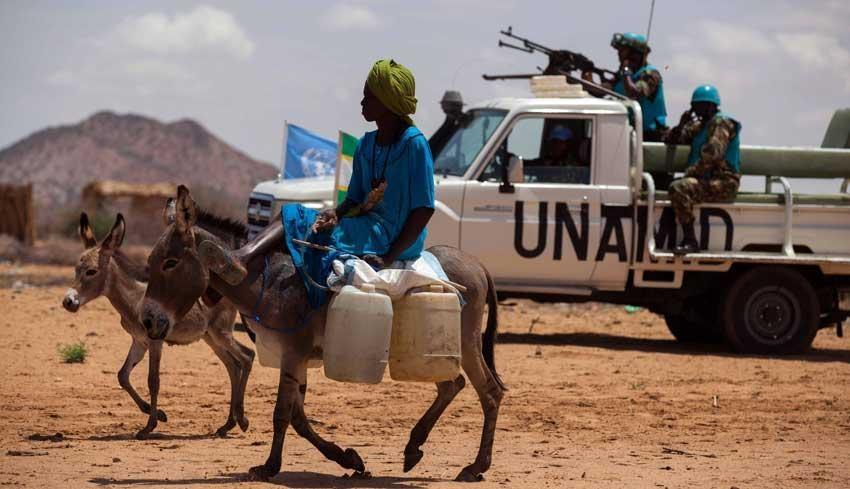 Bilde fra Darfur