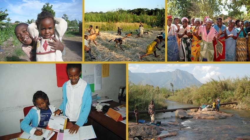 Bilde av jenter og kvinner i Malawi