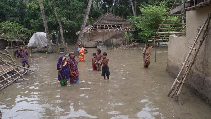 bilde av klimaofre i Bangladesh