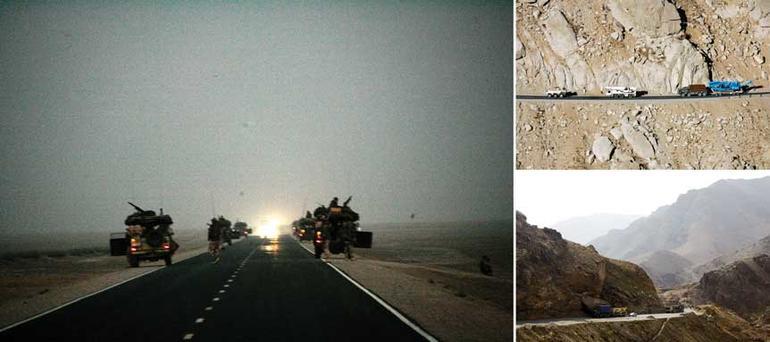 Ulike bilder av ISAf i Afghanistan.