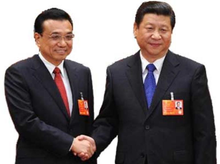 Bilde av den kinesiske statsministeren og presidenten