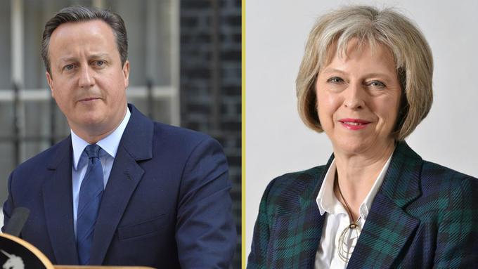 Bilde av Cameron og May