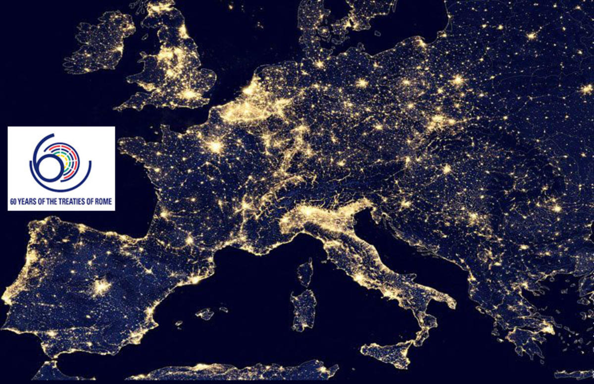 ac84eaab Romatraktaten 60 år i et Europa fylt av lys, men også mørke