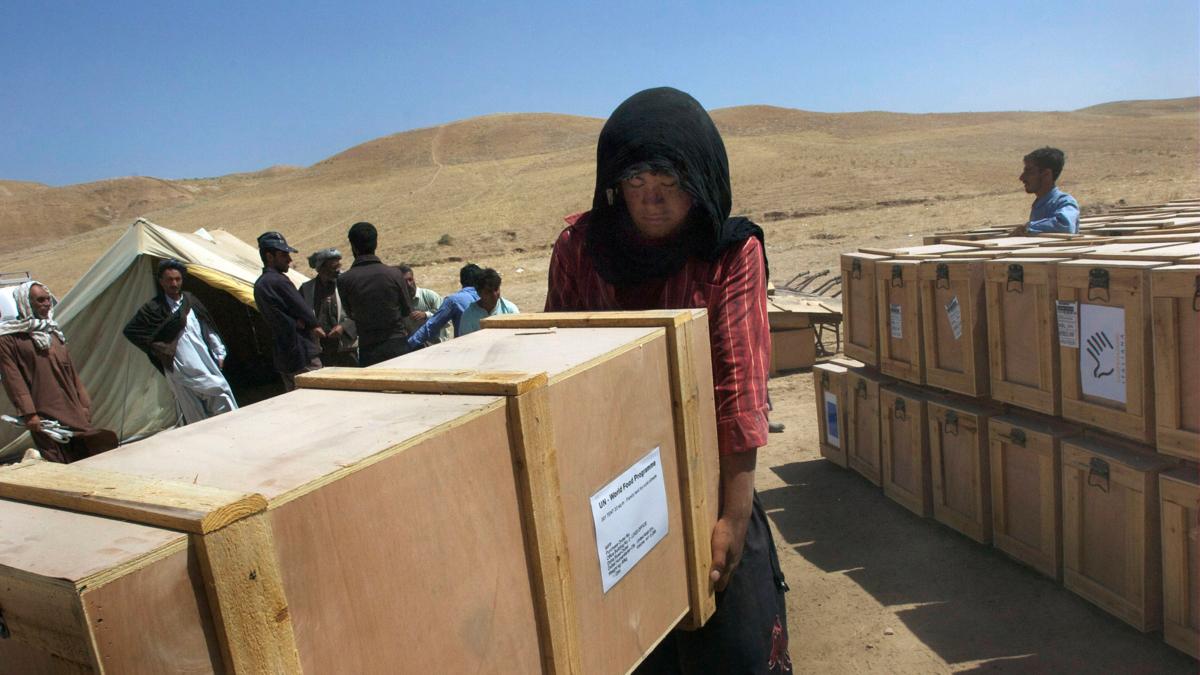 Humanitær bistand i Afghanistan