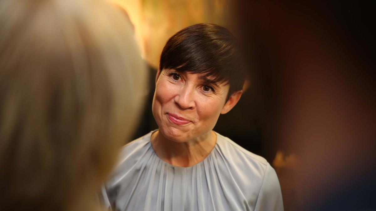 Bildet viser Norges utenriksminister Ine Eriksen Søreide.