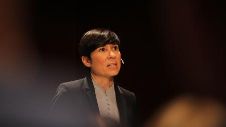 Bildet viser utenriksminister ine Eriksen Søreide