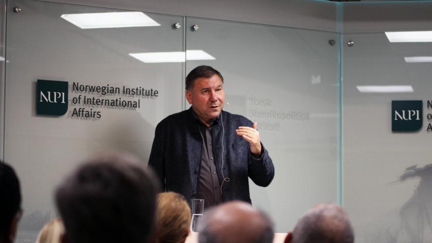 Ivan Krastev at NUPI
