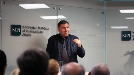 Ivan Krastev at NUPI