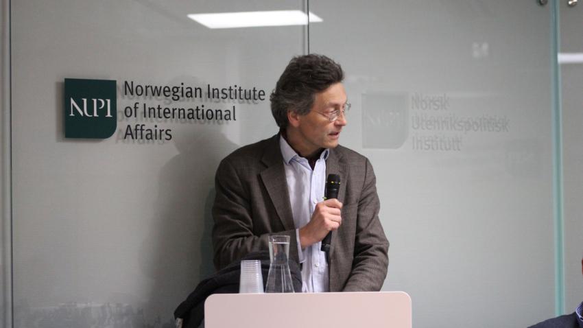 Bildet viser NUPI-forsker Iver B. Neumann