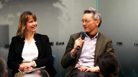 Vildet viser seniorforsker Nina Græger og professor Iver B. Neumann