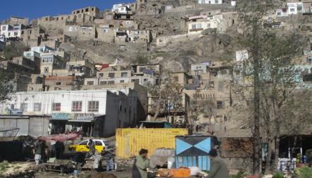 Bildet viser Kabul i Afghanistan.