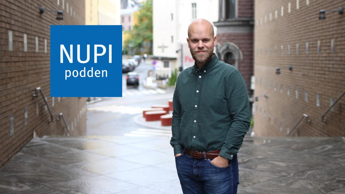 Bildet viser NUPI-forsker Øyvind Svendsen
