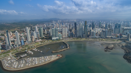 Bildet viser Panama City