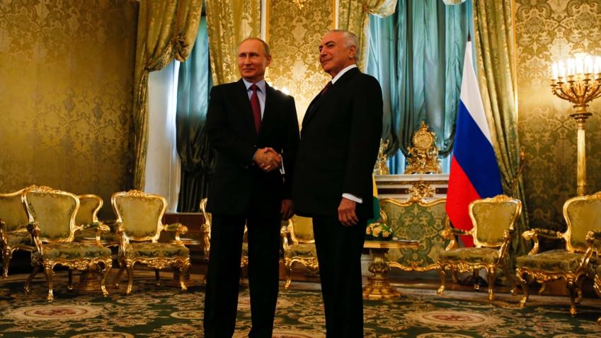 Bildet viser Russlands president Putin
