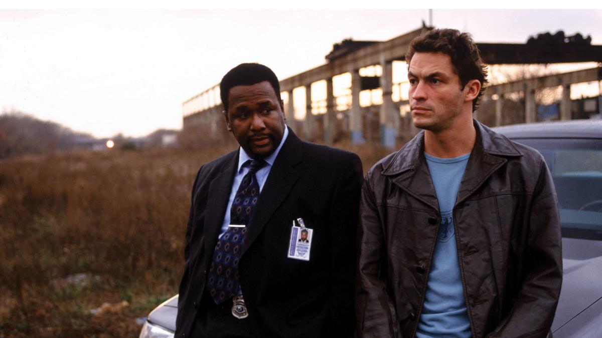 Bildet viser en scene fra TV-serien The Wire