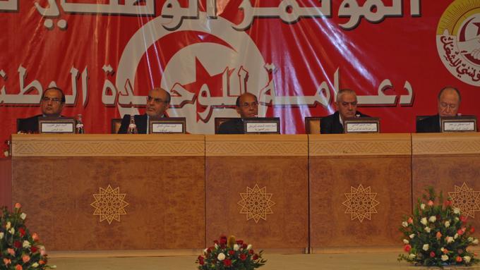 Bildet viser dialogmøte i Tunisia i 2012.