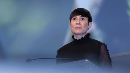 Bildet viser Norges utenriksminister Ine Eriksen Søreide