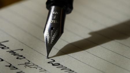 Bildet viser en penn