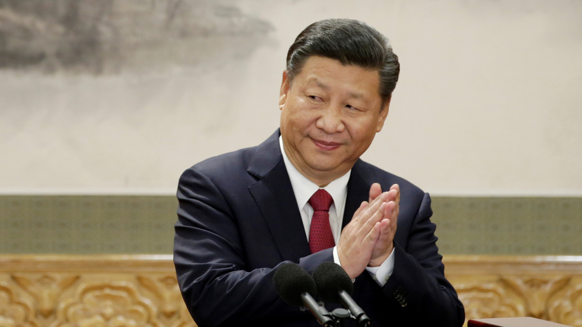 The image shows China's President Xi Jinping.