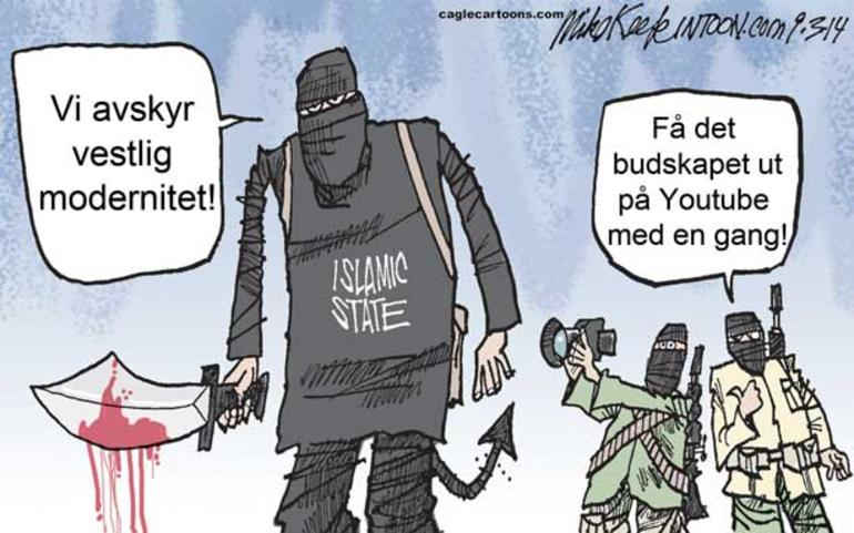 Sprik mellom hva ISIL sier og hva de gjør