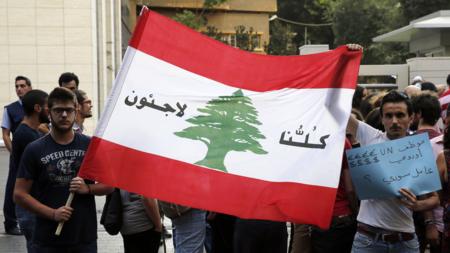 Bildet viser libanesiske potestanter