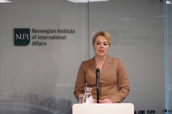 Ukrainas viseutenriksminister Natalia Galibarenko