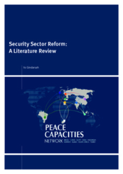 security sector reforms essay An essay on economic reforms and social and regresses for large population groups in terms of income security and finance and financial sector.