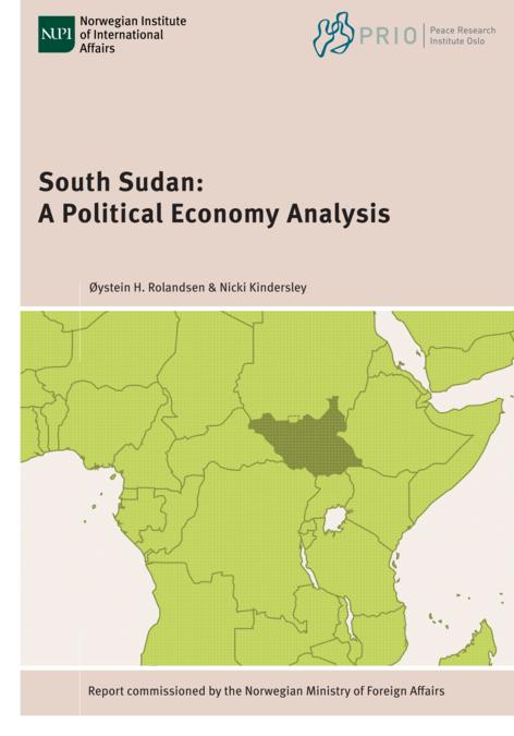 Political Map Of South Sudan.South Sudan A Political Economy Analysis Publication Nupi