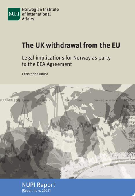The Uk Withdrawal From The Eu Legal Implications For