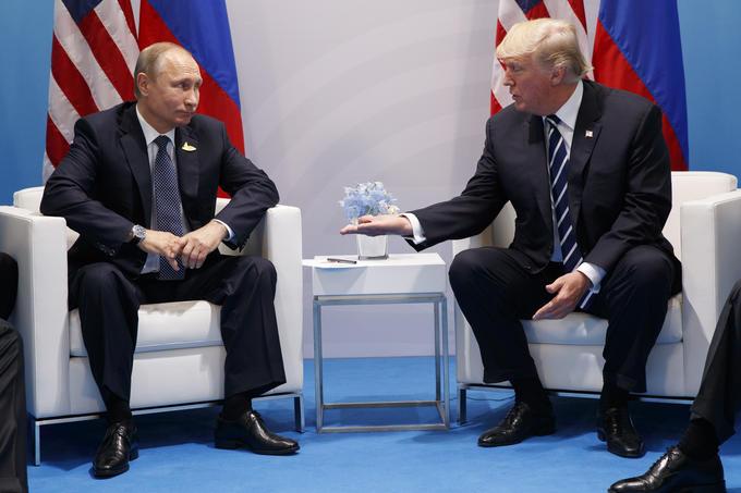Bilde av Putin og Trump